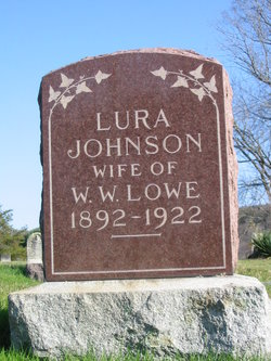 Lura <I>Johnson</I> Lowe