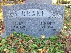 """Elizabeth """"Betty"""" <I>Mizerak</I> Drake"""