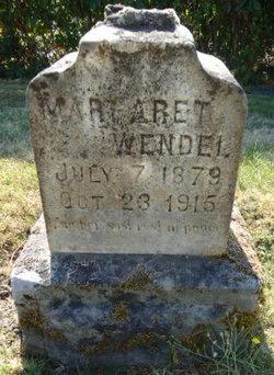 Margaret <I>Kennedy</I> Wendel