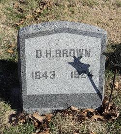 D. H. Brown