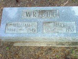 Mary <I>Wood</I> Wright