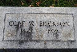 Olaf W Erickson