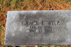 Grace E. <I>Smith</I> Witz