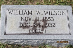 "William Washington ""Billy"" Wilson"