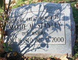 Mattie M Stanley