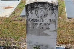 Maurine B Butler