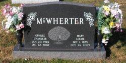 Mary Louise <I>Noe</I> McWherter