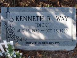 "Kenneth R ""Dick"" Way"