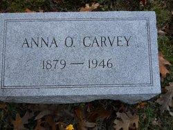 Anna O. <I>Rosecrans</I> Carvey