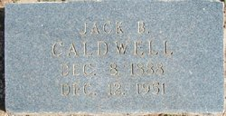"John Burr ""Jack"" Caldwell"