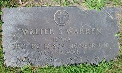Walter S Warren