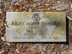 Riley Alver English