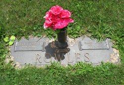 Sara E. <I>Uncles</I> Rowles