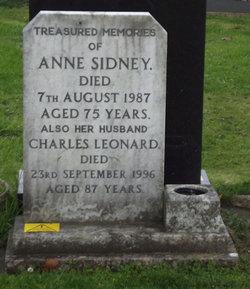 Anne Sidney