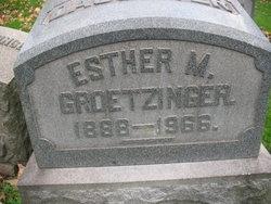Esther M. Groetzinger