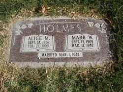 Alice Martha <I>Michelson</I> Holmes
