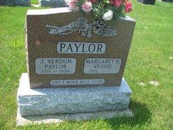 Margaret <I>Vessie</I> Paylor