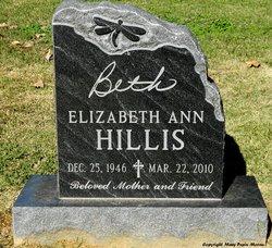 """Elizabeth Ann """"Beth"""" Hillis"""
