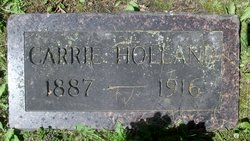 Carrie L <I>Larson</I> Holland