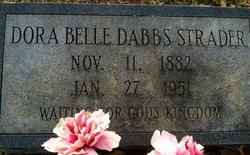 Dora Belle <I>Dabbs</I> Strader