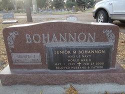 "Junior M ""Bo"" Bohannon"
