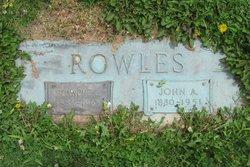 Blanche E. <I>Snyder</I> Rowles