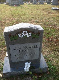 Lula <I>Howell</I> Deane