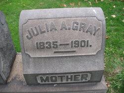 Julia A. <I>McClelland</I> Gray