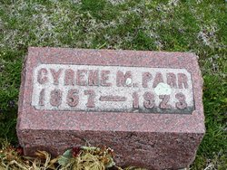 Cyrene M. <I>Holter</I> Parr