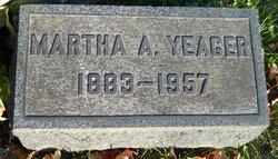 Martha Ann <I>Danforth</I> Yeager
