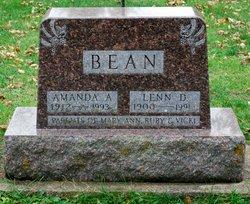 Amanda A <I>Nordman</I> Bean