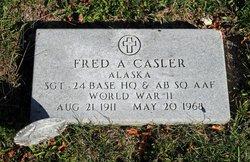 Fred A Casler