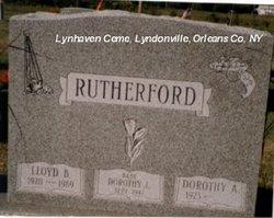 Dorothy J Rutherford