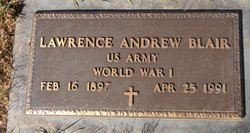 Lawrence Andrew Blair