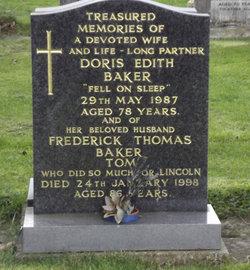 "Frederick Thomas ""Tom"" Baker"