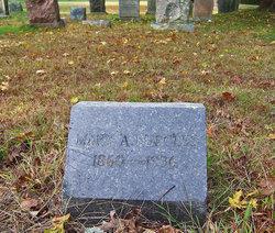 Mary A. <I>Beatty</I> Burgess