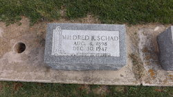 Mildred R Schad