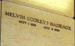 "Melvin ""Corky"" Badeaux"