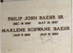 Philip John Baehr, Sr