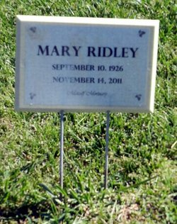 Mary Ridley