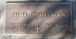 Velma Elizabeth <I>Thomas</I> Blair