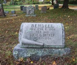 Eva Linwood <I>Knowles</I> Bendell