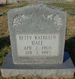 Betty Kathleen Hall