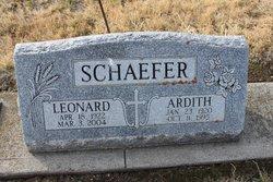 Leonard G Schaefer