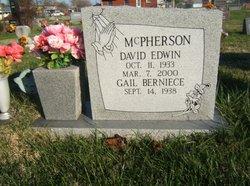 David Edwin McPherson