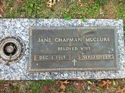 Jane <I>Chapman</I> McClure
