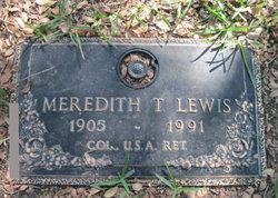 Meredith T. Lewis