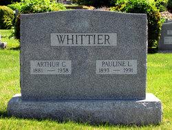 Pauline Christine <I>Leipert</I> Whittier