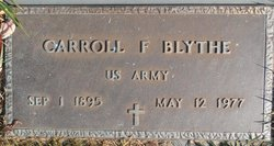 Carroll Franklin Blythe