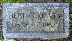 Bert C McVey